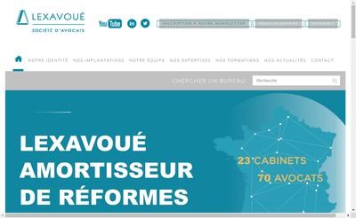 Site internet de Lexavoue Participations