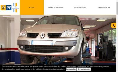 Site internet de Lf Automobiles
