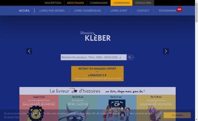 Site internet de Librairie Internationale Kleber