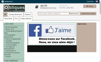 Site internet de Obliques