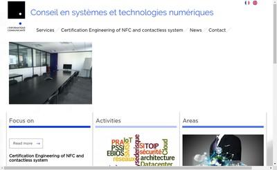 Site internet de L'Informatique Communicante