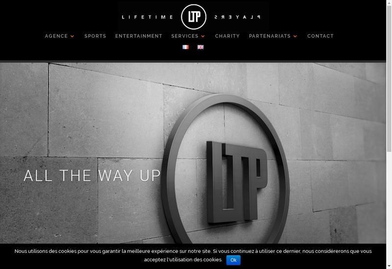 Capture d'écran du site de Lifetime Players