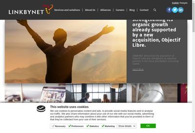 Site internet de Link By Net