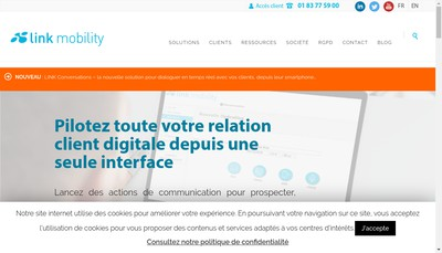 Site internet de Netmessage