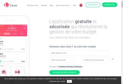 Site internet de Linxo Group