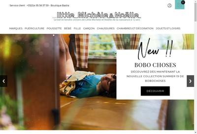 Site internet de Little Michele et Noelle