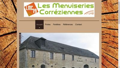 Site internet de Les Menuiseries Correziennes
