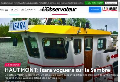 Site internet de L'Observateur
