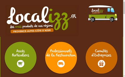 Site internet de Localizz