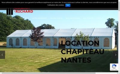 Site internet de Abc Location Richard