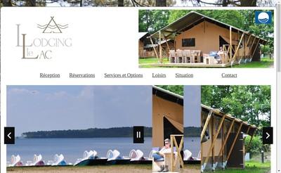Site internet de Lodging le Lac