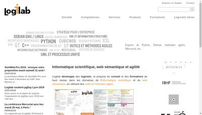 Site internet de Logilab