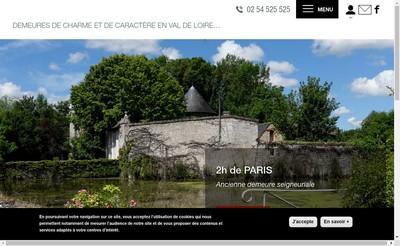Site internet de Loire & Charme Immobilier