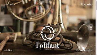 Site internet de L'Olifant