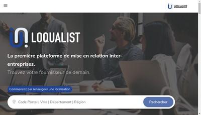 Site internet de Loqualist