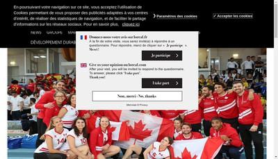 Site internet de Kerastase Mizani l'Oréal Professionnel Paris Essie Professionnel Baxter Of California Biolage