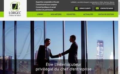 Site internet de Lorgec