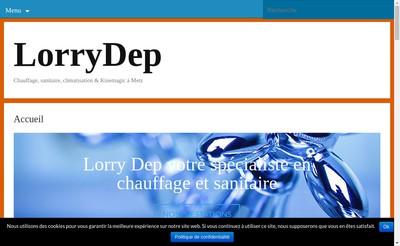 Site internet de Lorry-Dep