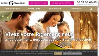 Site internet de Lp Promotion