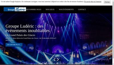 Site internet de Luderic Evenement