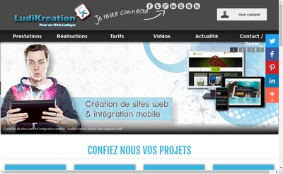 Site internet de Ludikreation