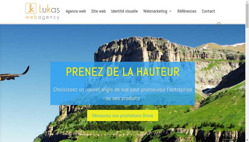 Capture d'écran du site de Lukas