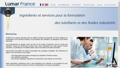 Site internet de Lumar France