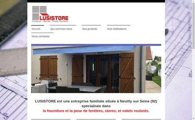 Site internet de Lusistore