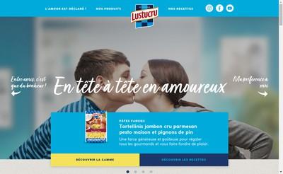 Site internet de Lustucru Riz