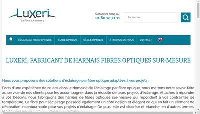 Site internet de Luxeum