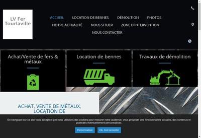 Site internet de L-V-Fer Tourlaville