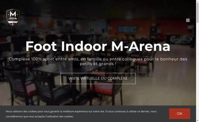 Site internet de M-Arena