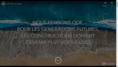 Site internet de Ms Developpement et Participations