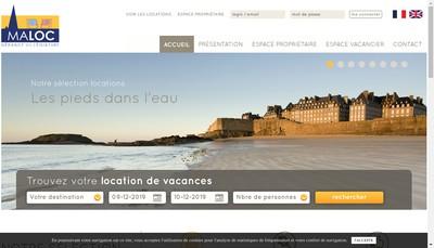 Site internet de Maloc