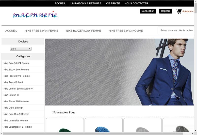 Capture d'écran du site de SA Genetin