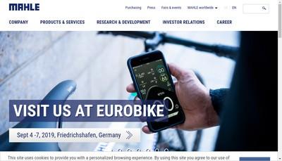 Site internet de Mahle France SAS