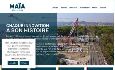 Site internet de Maia Sonnier