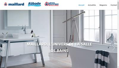 Site internet de Espace Aubade