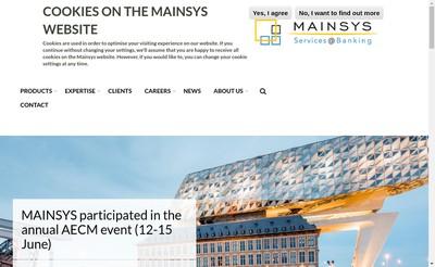 Site internet de Mainsys France