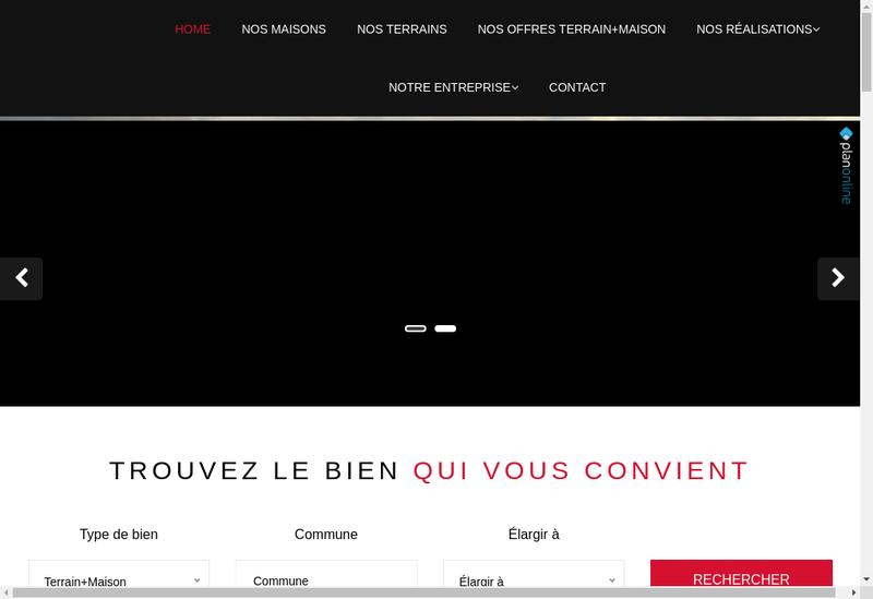 Capture d'écran du site de Artec 79
