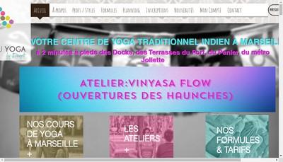 Site internet de Maison du Yoga By Deepti