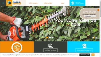 Site internet de Maison &Services Alencon