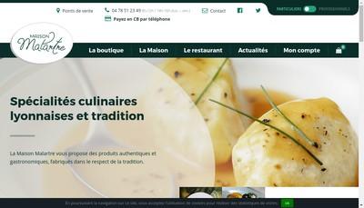 Site internet de Le Marche de Saint Genis Maison Malartre