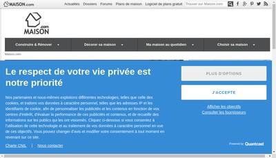 Site internet de Maison SARL
