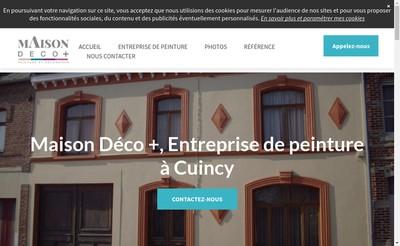 Site internet de Maison Deco