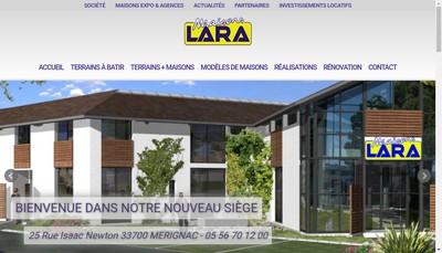 Site internet de Maison Lara