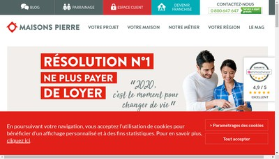 Site internet de Wagram - Residences Ile de France