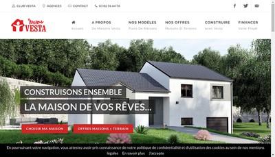 Site internet de Vesta Espace