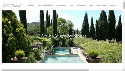 Site internet de Groupe Sibuet