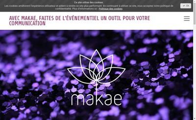 Site internet de Makae